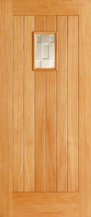Traditional Oak External Door - The Suffolk