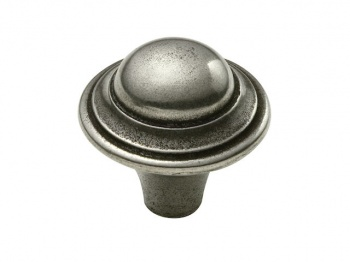 Finesse Haddon - Genuine Pewter Cabinet Knob (2 part)