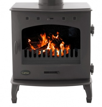 Carron Enamel 7.3kW Multifuel DEFRA Smoke Exempt Stove in Pebble