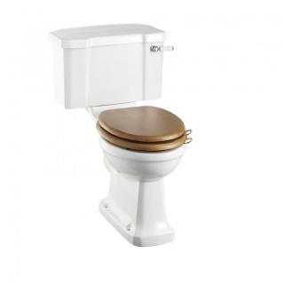 Regal close-coupled pan with standard lever cistern
