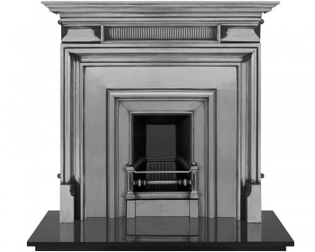 The Royal (Narrow Opening) Cast Iron Fireplace Package