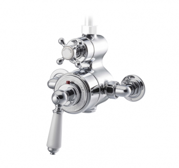Exposed Thermostatic Shower Valve Chrome