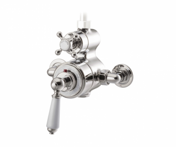 Exposed Thermostatic Shower Valve Nickel