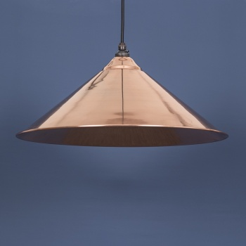 The Yardley Pendant - Smooth Copper