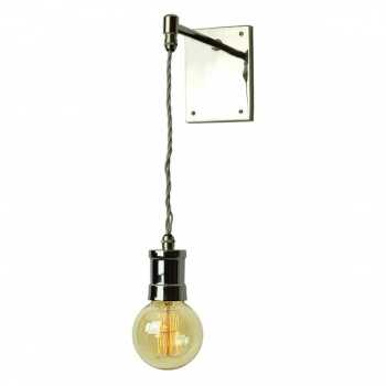 Tommy Adjustable Wall/Ceiling Light - Polished Nickel