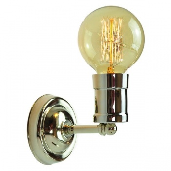 Tommy Fixed Wall Light - Polished Nickel