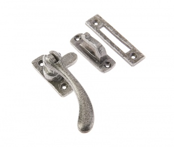 Ludlow Pewter Pear Drop Window Fastener