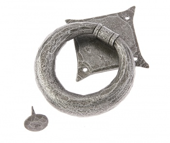 Ludlow Pewter Ring Door Knocker