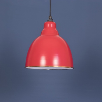 Venetian Red and White Brindley Pendant