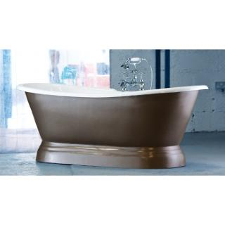 Versailles Cast Iron Bateau Bath With Plinth