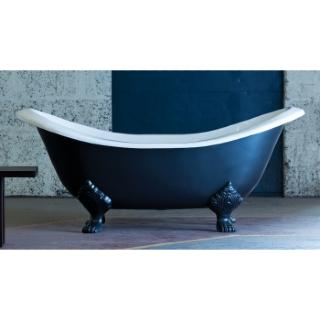 Villandry Cast Iron Bath Double Ended Slipper