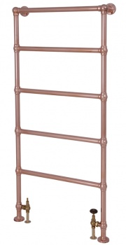 Winthorpe Traditional Towel Rail - Copper