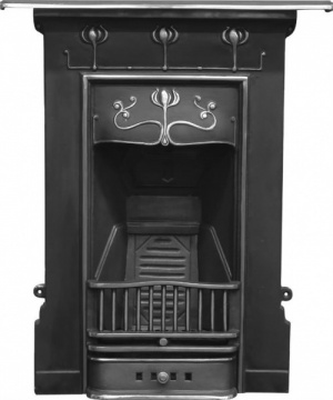 The Abbot Cast Iron Fireplace