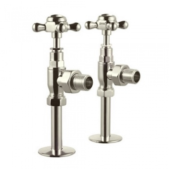 Arcade Bathrooms Angled Radiator Valves