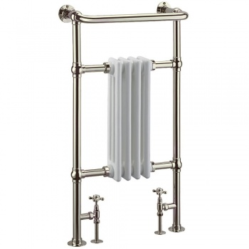 Arcade Bruton Towel Radiator - Nickel