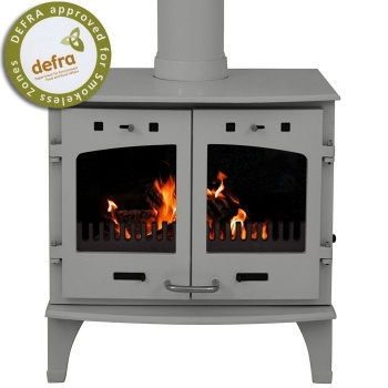 Carron 11KW Stove Ash Grey