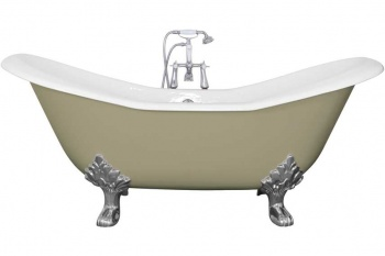 Cast Iron Baths - The Banburgh Large