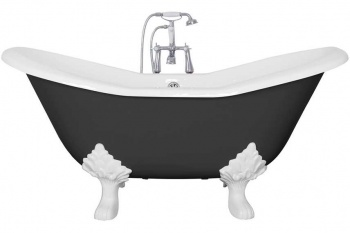 Cast Iron Baths - The Banburgh Small