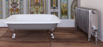 Cast Iron Baths - The Bentley Shower Tray