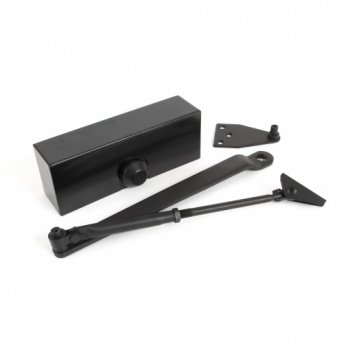 Black Size 3 Door Closer and Cover