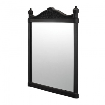 Burlington Bathrooms Black Aluminium Mirror