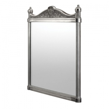 Burlington Bathrooms Polished Aluminium Mirror