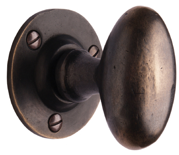 Cardea Bronze Oval Knobs
