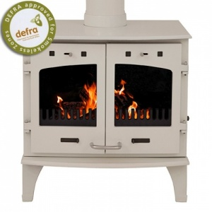 Carron 11KW Stove Cream