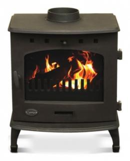Carron Matt Black 7.3kW Multifuel DEFRA Smoke Exempt Stove