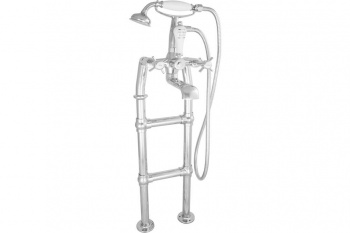 Freestanding Chrome Bath Taps - Small