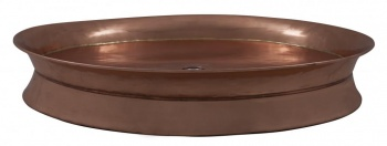 Copper Shower Tray with 855mm Diameter