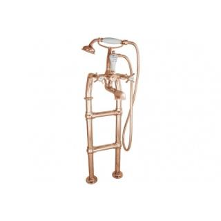 Freestanding Copper Bath Taps - Small