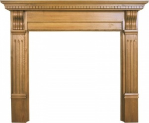 The Corbel Fire Surround - Pine