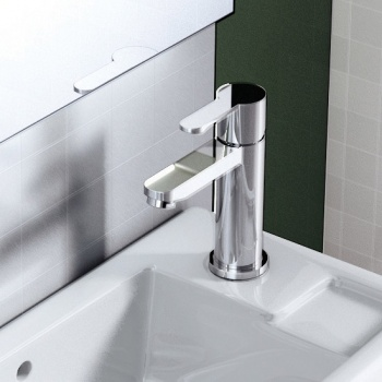 Crystal Clearwater Mini Basin Mixer Without Waste