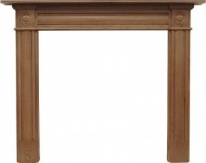 The Derry Fire Surround - Oak