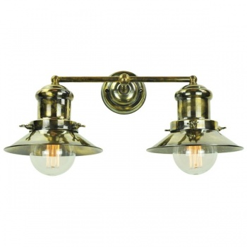 Edison Small Double Wall Light