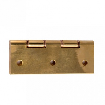Butt Hinge (Phosphor Bronze Washer) - Brass