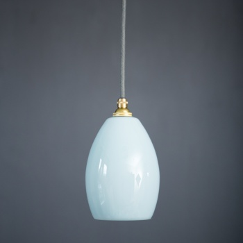 Bertie Small Mint Green Glass Pendant Light