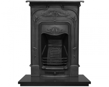 The Jasmine Cast Iron Fireplace