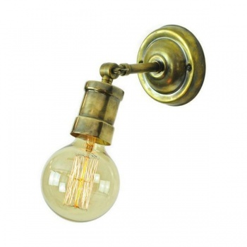 Tommy Adjustable Wall or Ceiling Light - Antique Brass