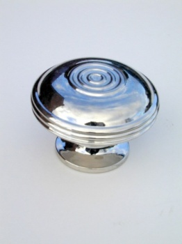 Large Bloxwich Cupboard Knob - Nickel