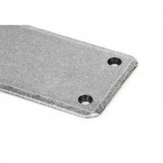 Pewter Fingerplate - Large