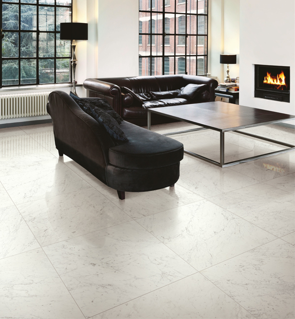 Altissimo Carrara Matt Porcelain Floor Tiles