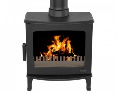 Carron ECO Stove 5KW - Matt Black
