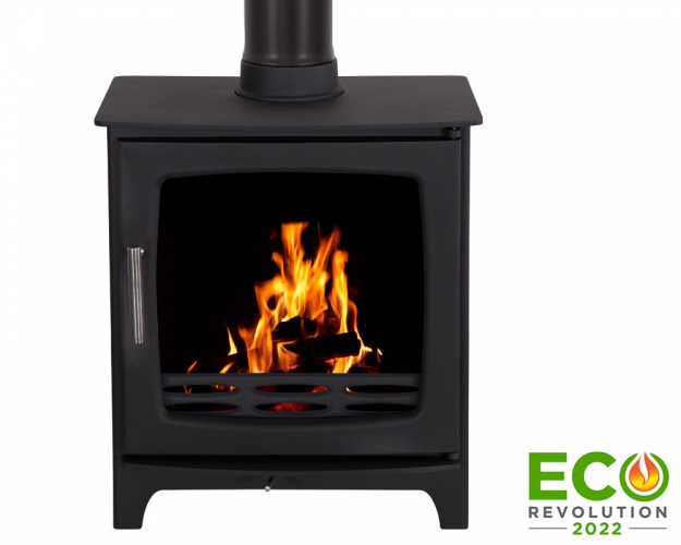 Carron Matt Black 5KW ECO Revolution Stove