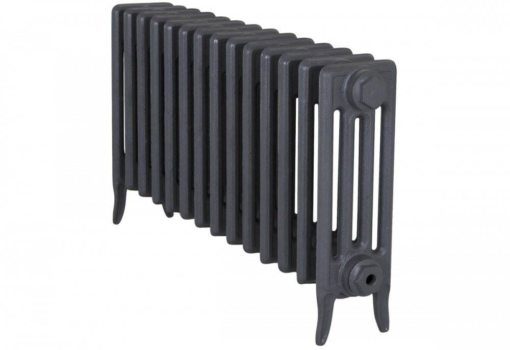 Victorian 4 Cast Iron Radiators 460mm - 14 Section