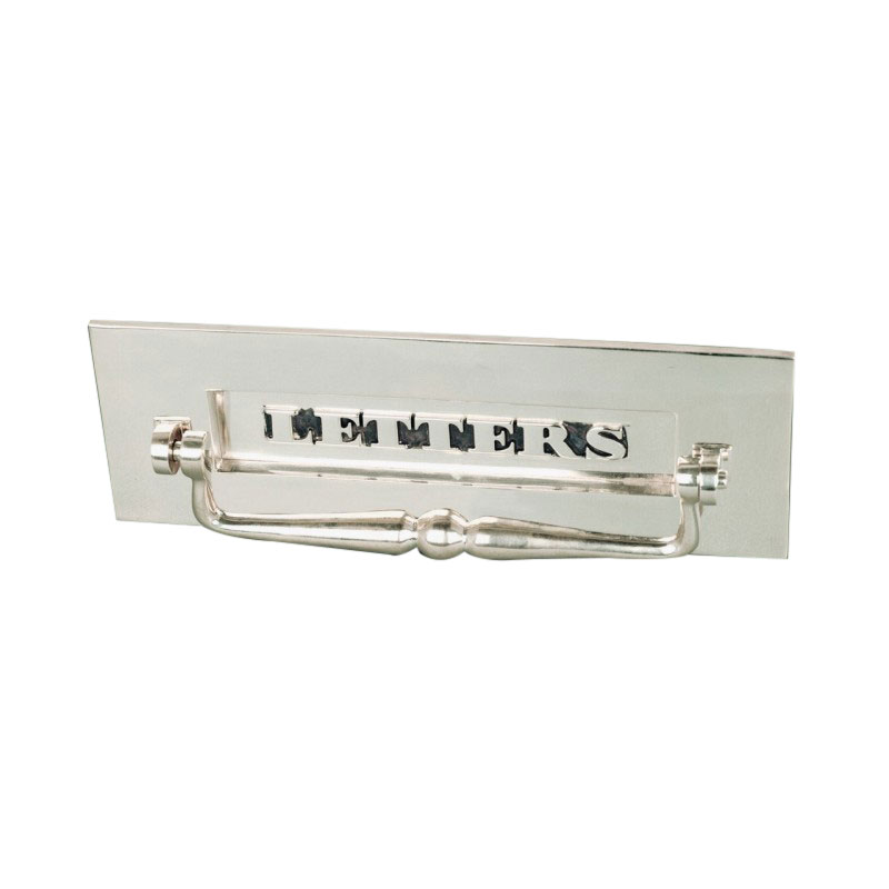 Classic Letterbox With Clapper - Nickel