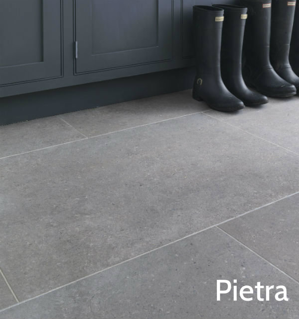 Isle Natural Finish Pietra Porcelain Floor Tile