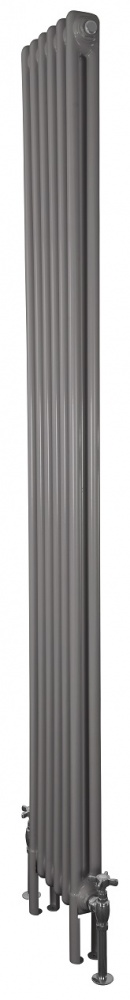 Enderby 2 Column Steel Radiator 1910mm 6 Section