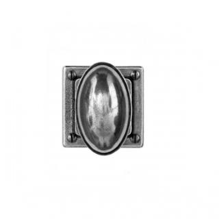 Finesse Door Knob on 'Jesmond' Rose Backplate